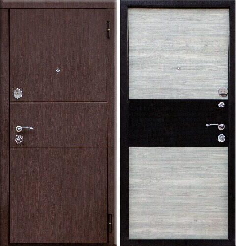 двери металлические входные глянцевые